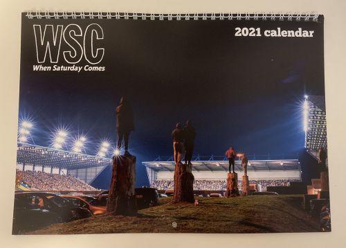WSC 2021 calendar