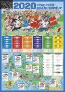 Euro 2020 wallchart